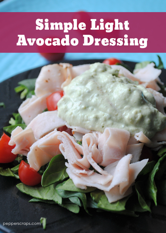 Simple-Light-Avocado-Dressing