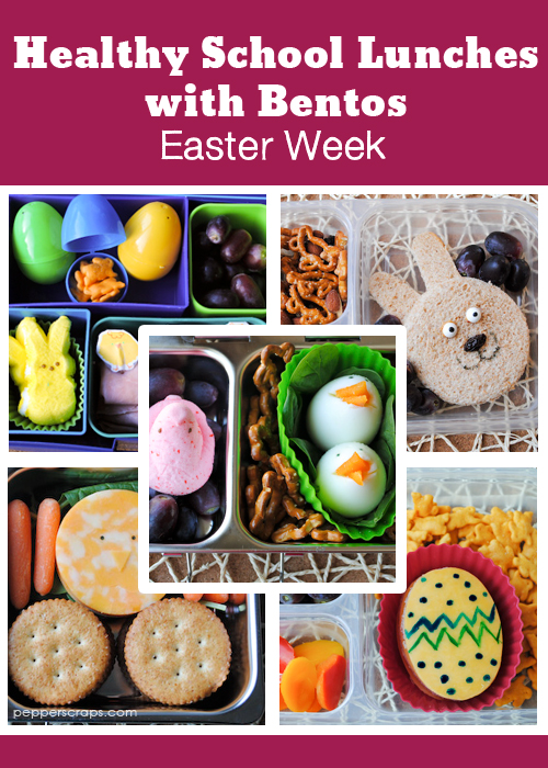 Easter Week of Bentos