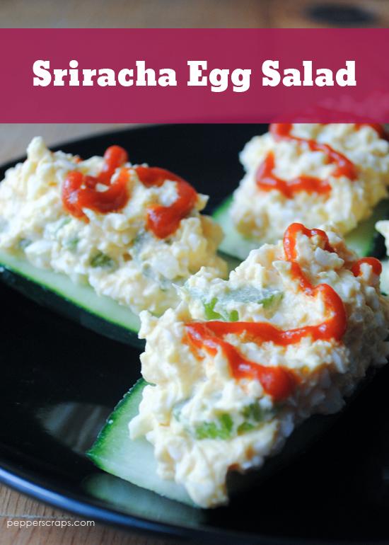 Sriracha Egg Salad