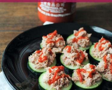 Easy Tuna Sriracha Bites