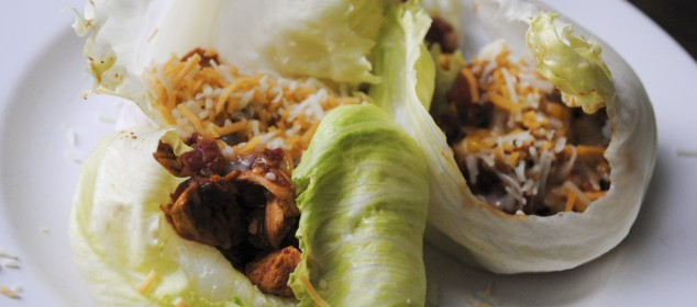 Southwest Chicken Lettuce Wraps lg