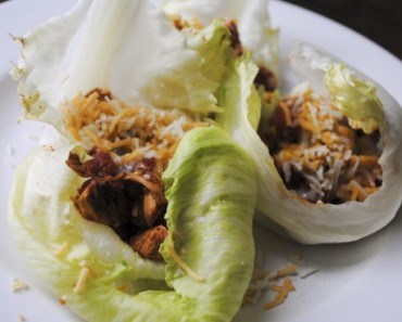 Southwest Chicken Lettuce Wraps lg