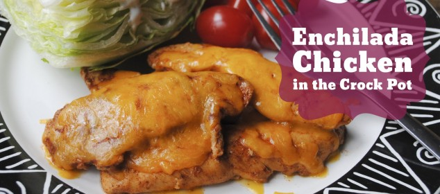 Enchilada Chicken in the Crock Pot (Throwback Thursdays)