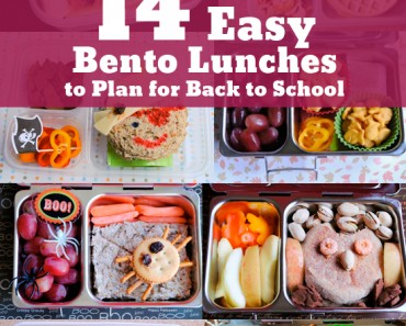 14 Easy Bento Lunches To Plan For Back To School