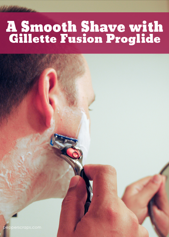 a smooth shave with gillette