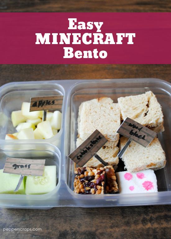Easy Minecraft Bento