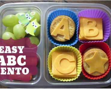 Bento of the Week: ABC Bento