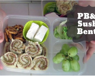 Bento of the Week: PB&J Sushi!