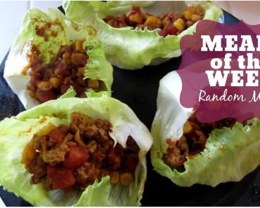 Meals of the Week: Random Meals