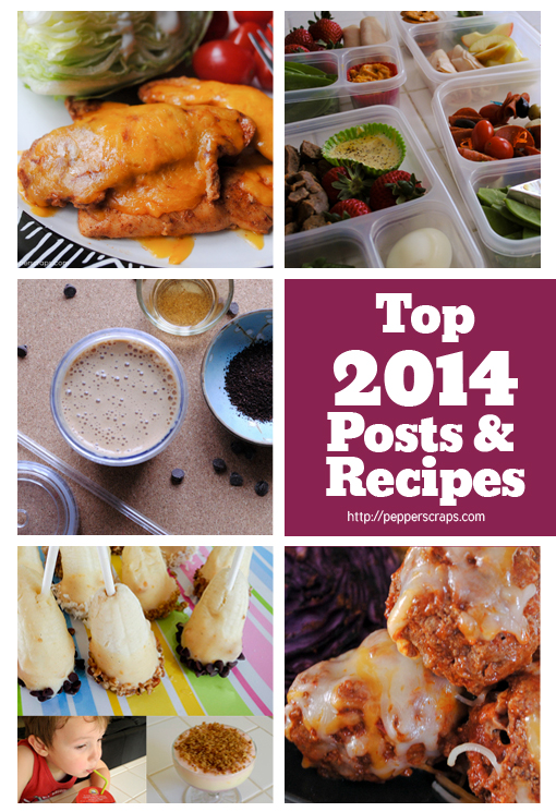 2014 Top Posts and Recipes for Pepper Scraps