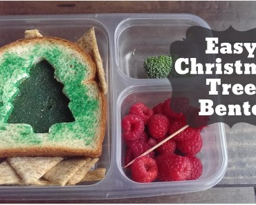 Bento of the Week: Easy Christmas Tree Bento
