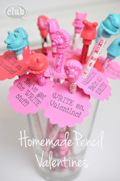 Homemade-pencil-Valentine-craft-for-kids