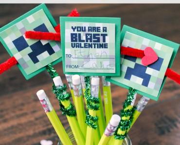 Minecraft Creeper Pencil Topper