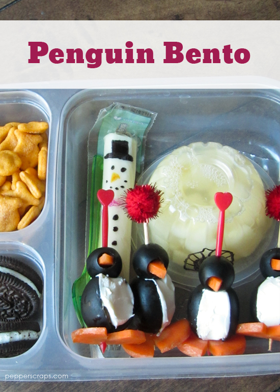 Penguin Bento an Easy and Fun School Lunch for Winter