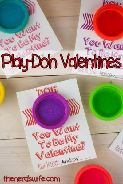 Play-Doh-Valentines