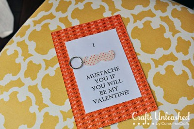 Valentines-Day-Crafts-Mustache by Crafts Unleashed