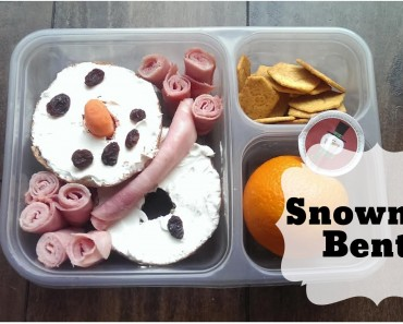 Bento of the Week: Snowman Bento