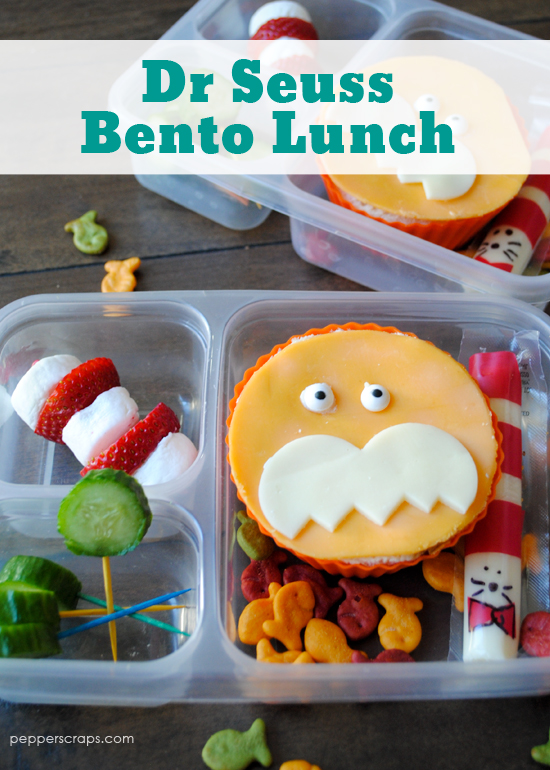 Dr Seuss Bento Lunch