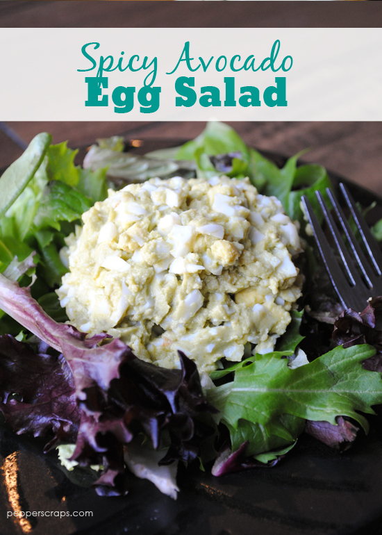 Easy Spicy Egg Salad