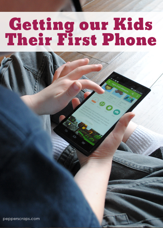 Getting Kids Their First Phone