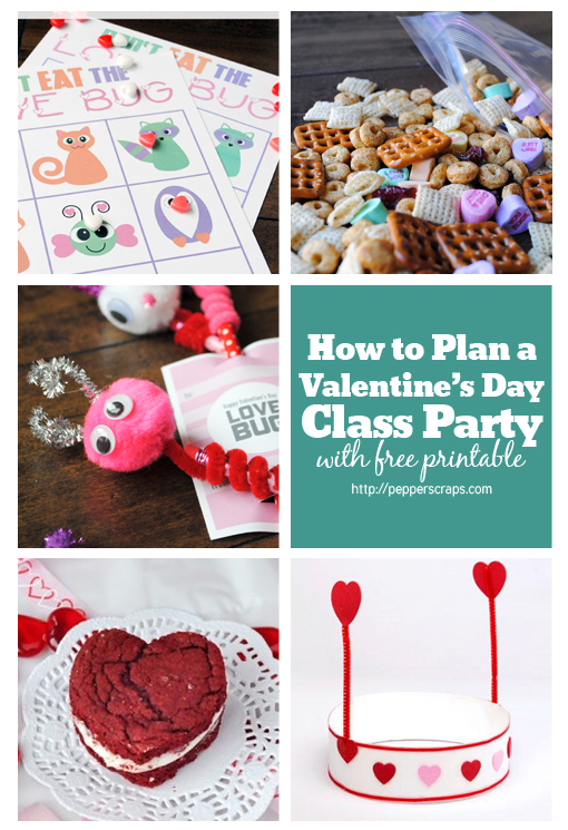 How To Plan A Valentines Day Class Party