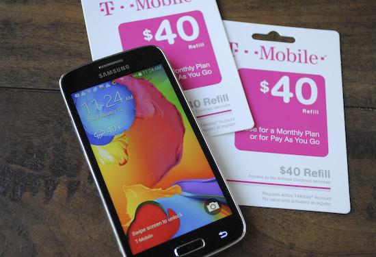 T-Mobile Samsung Galaxy Avant