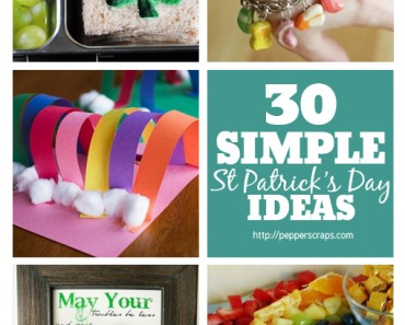 30 Simple St Patrick Day Ideas