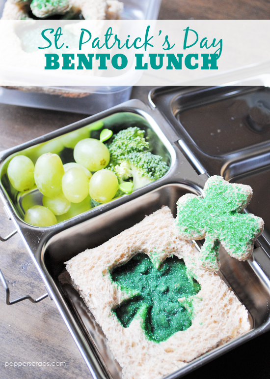 St Patricks Day Bento Lunch