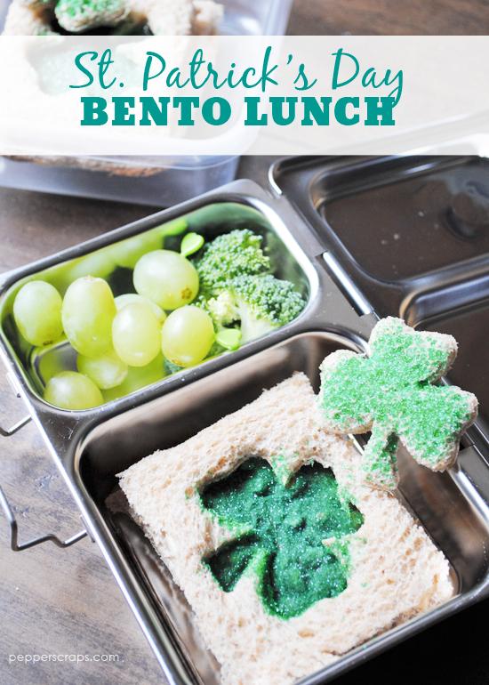 St Patricks Day Bento Lunch