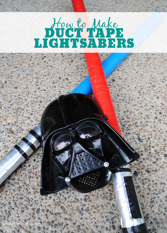 How To Make Duct Tape Lightsabers