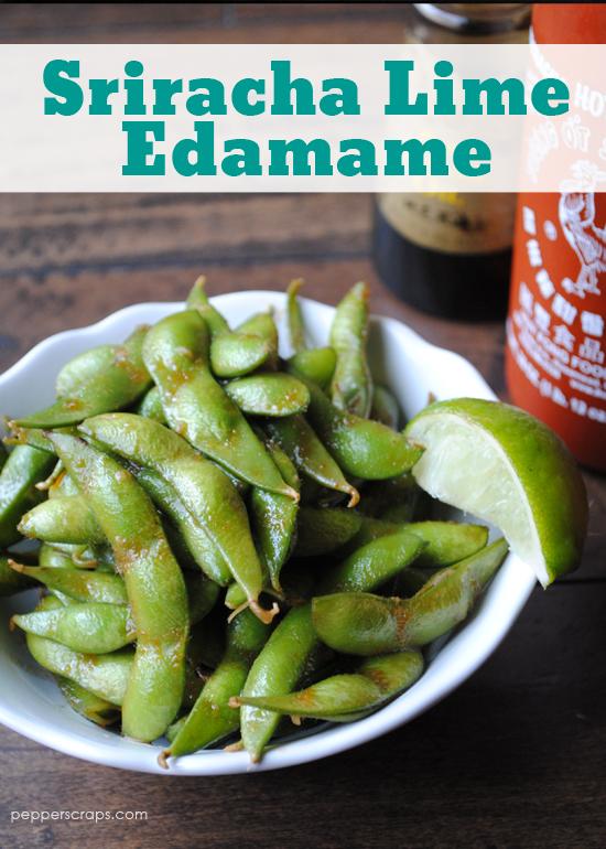 Sriracha Lime Edamame