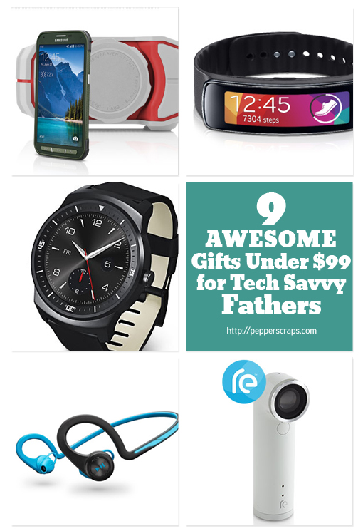 9 Awesome Gifts Under$99 for Tech Savvy Fathers