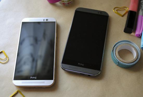 HTC One M8 vs M9