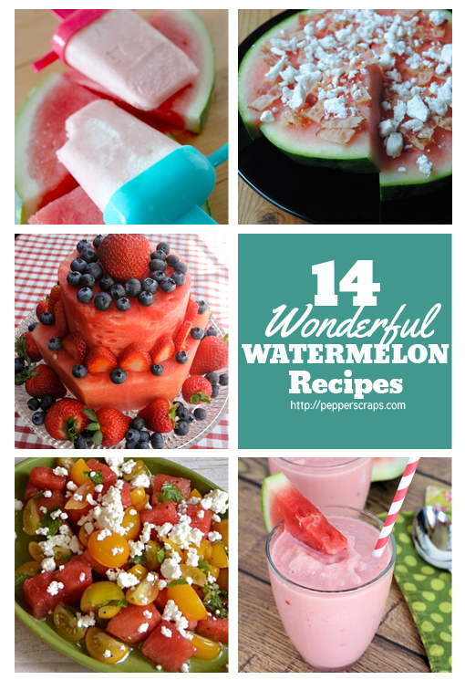 14 Wonderful Watermelon Recipes for Summer