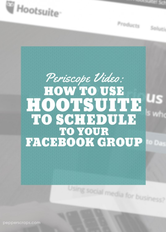 How to Use Hootsuite to Schedule to Your Facebook Group