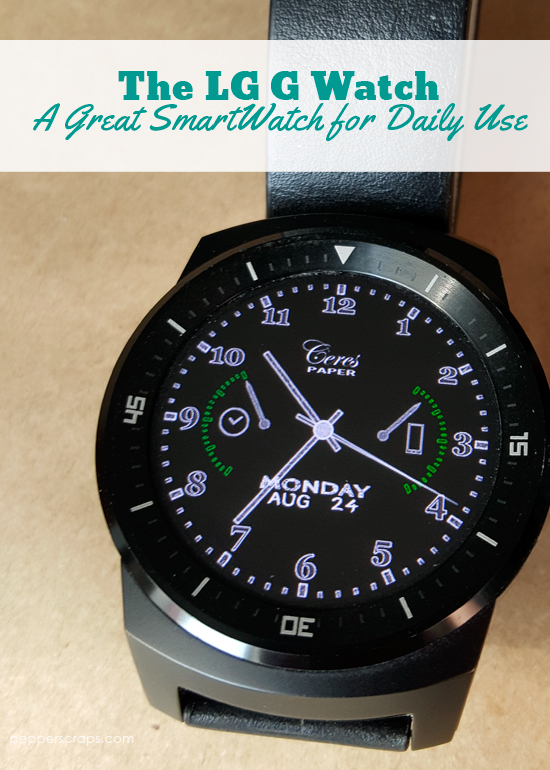 LG G Watch Review - A Great SmartWatch for Daily Use