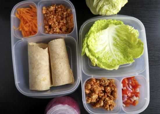 Easy Manwich Chicken Wraps_7