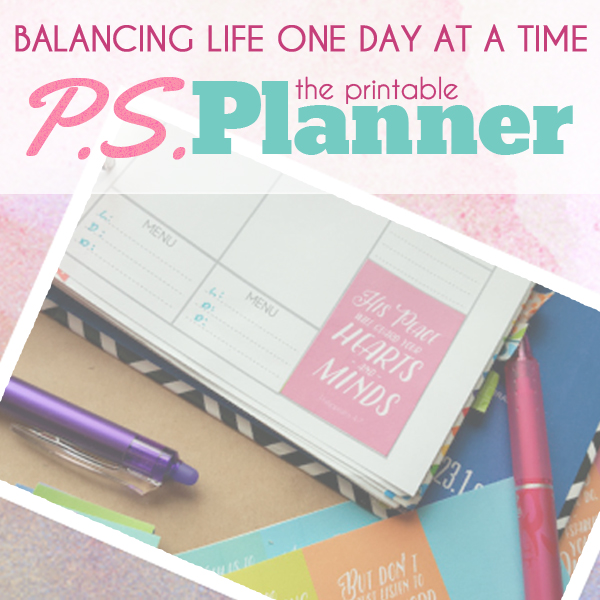 PS Planner Printables