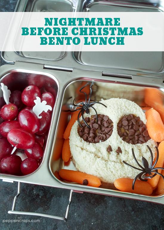 Nightmare Before Christmas Bento Lunch