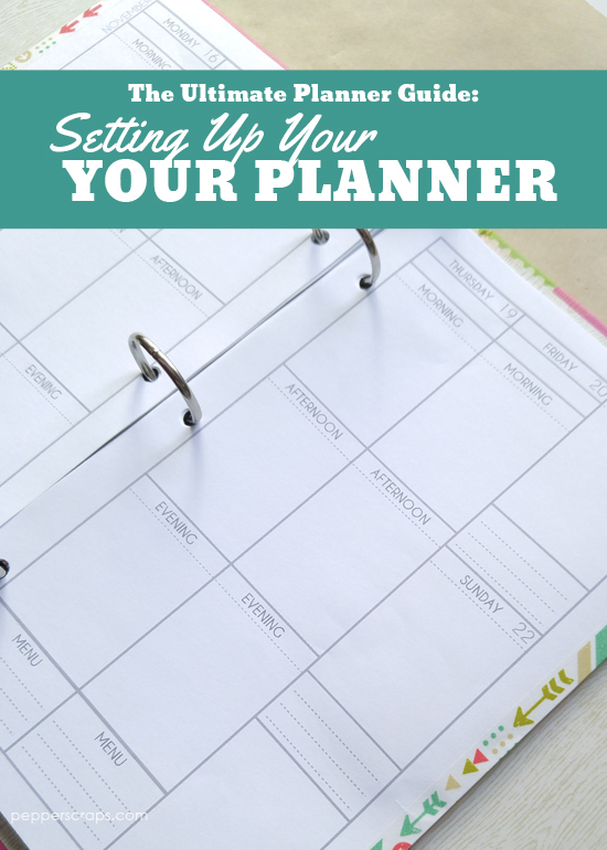 The Ultimate Planner Guide Setting Up Your Planner