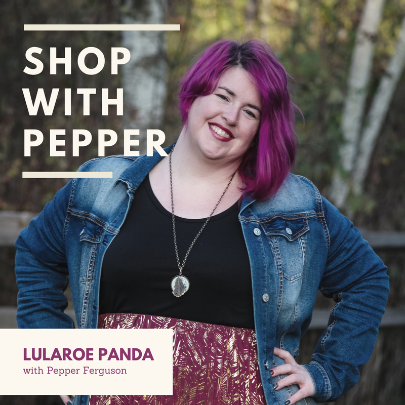 shop with pepper - LuLaRoe Panda