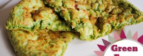 Green Eggs Frittata &#8211; Happy Dr Seuss Day!