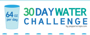 #64ozchallenge – 64 oz of water everyday for 30 days