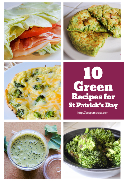 10 Green Recipes for St Patrick's Day