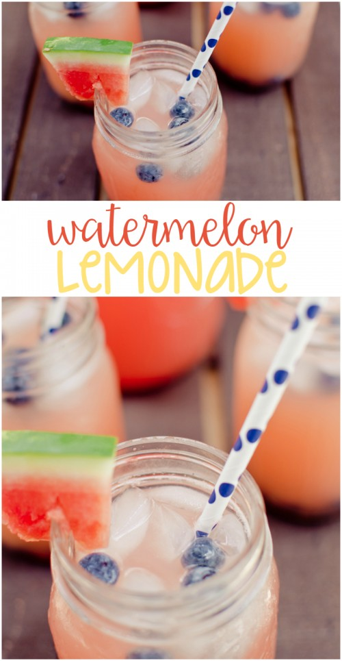 Watermelon, Lemonade, And Blueberry Ice Pops Recipe — Dishmaps