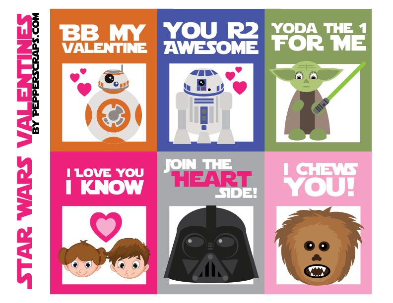 Schön Star Wars Valentines. Get Free Printable